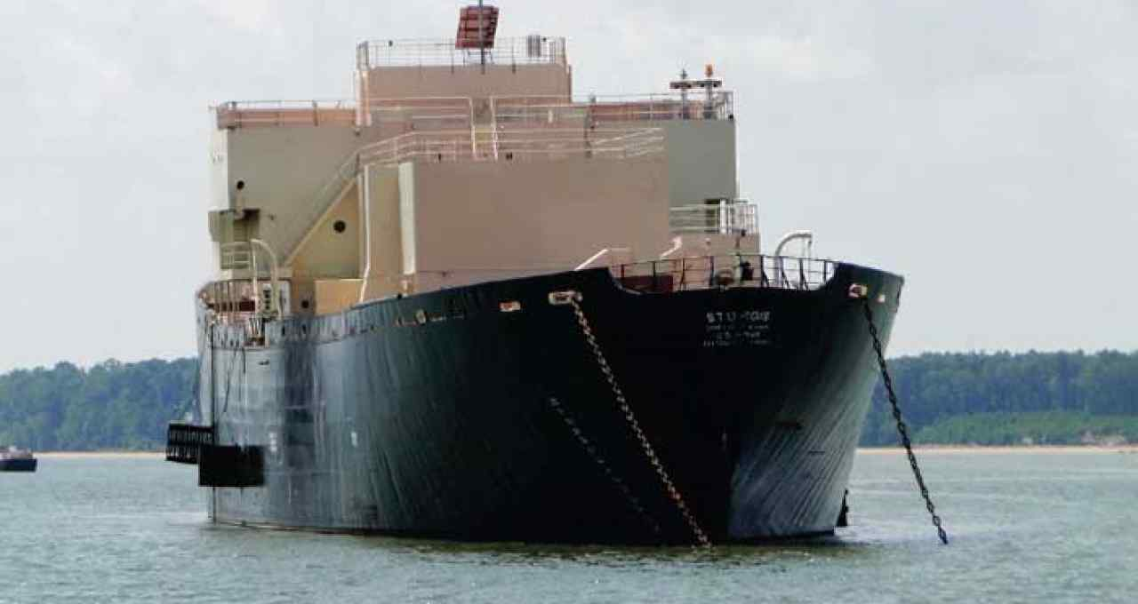 Nuclear Barge Project