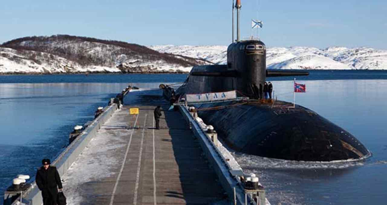Russian Submarine Decommissioning